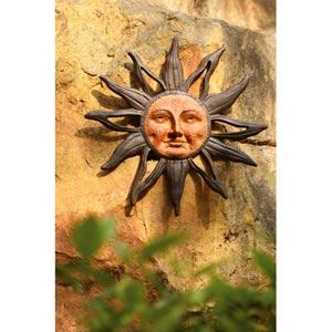 Sun Face Wall Plaque