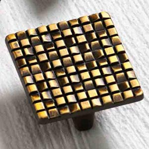 Italian Designs Group-Mosaic French Antique Bronze Knob