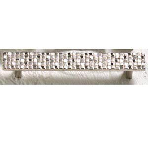 Italian Designs Group-Mosaic Satin Nickel Pull