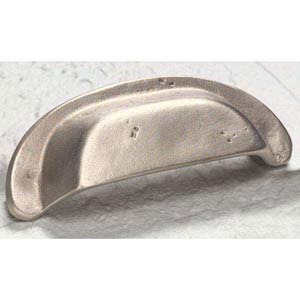 Cast Bronze Mountain Antique Silver Cup Pull