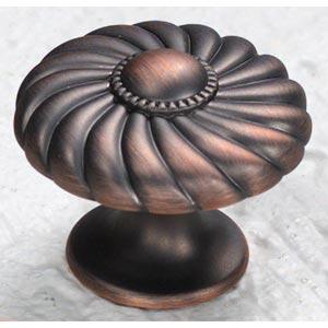 Casual Elegance Michelangelo Bronze Knob