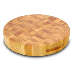 Large Round Slab Cutting Board