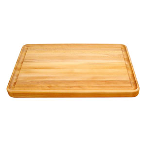 Pro 24-Inch Cutting Board with Reversible Groove
