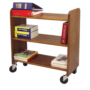 Walnut Library Book Truck