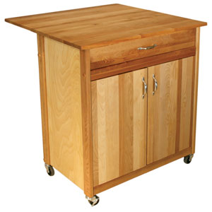 Mid-Size Two Door Cart with Drop Leaf
