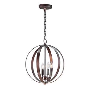 Provident Oil Rubbed Bronze 16-Inch Four-Light Pendant