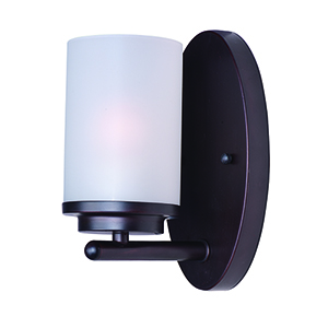 Corona Oil Rubbed Bronze Four-Inch One-Light Bath Sconce