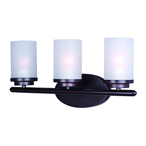 Corona Oil Rubbed Bronze 19-Inch Three-Light Bath Vanity
