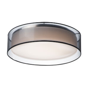 Prime Black 20-Inch Five-Light LED Flush Mount