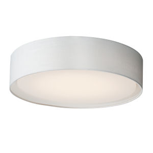 Prime White 20-Inch Five-Light LED Flush Mount