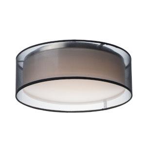 Prime Black 16-Inch LED Flush Mount