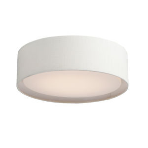 Prime White 20-Inch LED Flush Mount