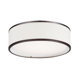 Prime Oil Rubbed Bronze 20-Inch LED Flush Mount
