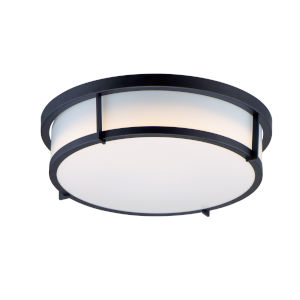 Rogue Black LED Flush Mount Title 24