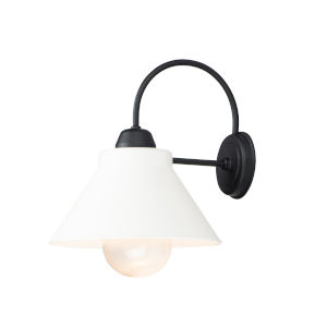 Jetty Black One-Light Outdoor Wall Mount