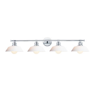 Willowbrook Polished Chrome Four-Light Bath Vanity