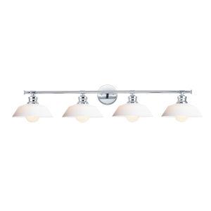 Willowbrook Polished Chrome Four-Light Bath Vanity