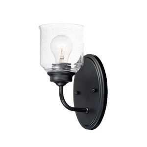 Acadia Black One-Light Wall Sconce