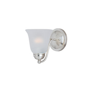 Basix Satin Nickel One-Light Wall Sconce