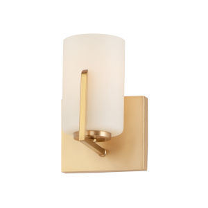 Dart Satin Brass One-Light Wall Sconce