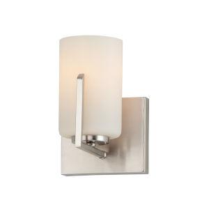 Dart Satin Nickel One-Light Wall Sconce