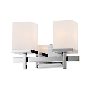 Tetra Polished Chrome 14-Inch LED Bath Vanity