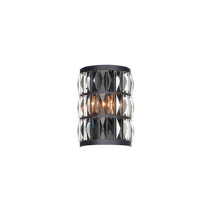 Madeline Black Two-Light Wall Sconce