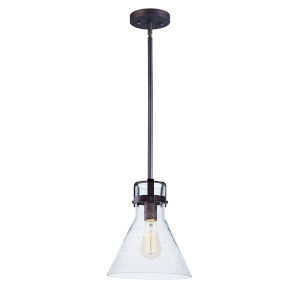 Seafarer Oil Rubbed Bronze 10-Inch One-Light Adjustable Pendant
