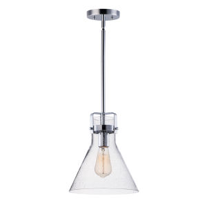 Seafarer Polished Chrome 10-Inch One-Light Adjustable Pendant