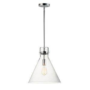 Seafarer Polished Chrome 14-Inch One-Light Pendant
