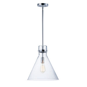 Seafarer Polished Chrome 14-Inch One-Light Adjustable Pendant