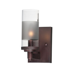 Crescendo Oil Rubbed Bronze Four-Inch One-Light Wall Sconce