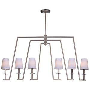 Swing Platinum Dusk Six-Inch Six-Light Pendant