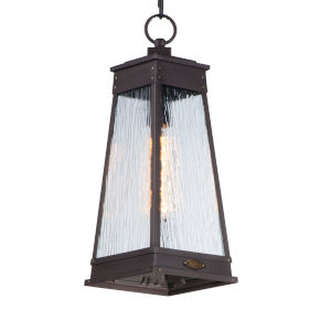 Schooner Old Brass Seven-Inch One-Light Outdoor Pendant