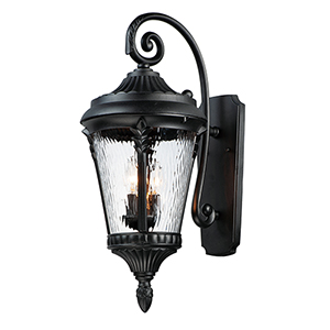 Revival Oil Rubbed Bronze One-Light Outdoor Wall Mount Sconce
