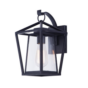 Artisan Black Seven-Inch One-Light Outdoor Wall Sconce