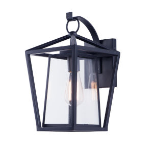 Artisan Black Nine-Inch One-Light Outdoor Wall Sconce