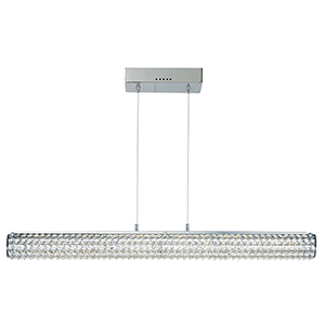 Meteor LED Polished Chrome 36-Inch One-Light Pendant