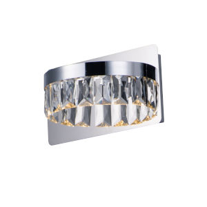 Icycle Polished Chrome 10-Inch LED Wall Sconce
