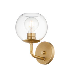 Branch Natural Aged Brass One-Light Wall Sconce