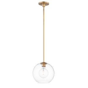 Branch Natural Aged Brass One-Light Pendant