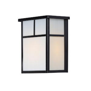Coldwater Black Six-Inch One-Light Outdoor Wall Sconce