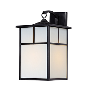 Coldwater Black Nine-Inch One-Light Outdoor Wall Mount