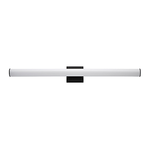 Rail Black Integrated LED ADA Wall Sconce