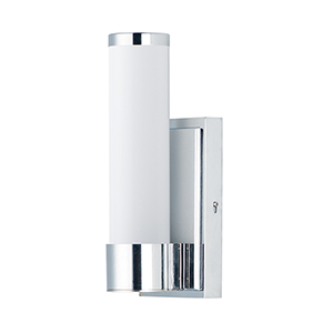 Optic Polished Chrome Integrated LED ADA 5-Inch Wall Sconce