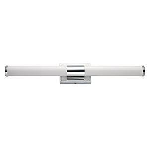 Optic Polished Chrome Integrated LED ADA 30-Inch Wall Sconce