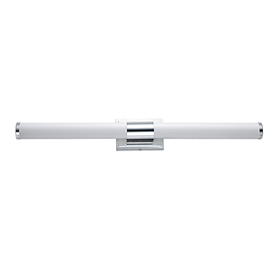 Optic Polished Chrome Integrated LED ADA Wall Sconce