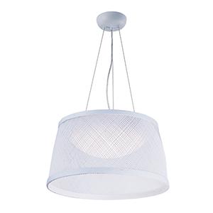 Bahama White 16-Inch LED Pendant