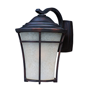 Balboa DC LED E26 Copper Oxide 10-Inch One-Light Outdoor Wall Mount