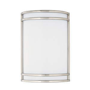Linear LED Satin Nickel Seven-Inch LED Wall Sconce
